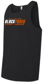 Black Foxes Mesh Tank Top