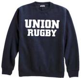 Union Rugby Crewneck Sweatshirt, Navy
