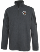 NOVA Men's Rugby Heathered Fleece Pullover