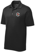NOVA Men's Rugby Performance Polo, Black