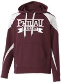 PhilaU Hoodie, Maroon