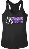 Scranton WRFC Ladies-Cut Performance Racerback