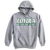 Loyola Rugby Hoodie, Gray
