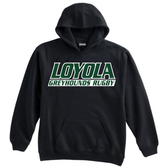 Loyola Rugby Hoodie, Black