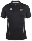 Syracuse Chargers CCC Team Dry Polo, Black