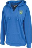 Loyola Dons Rugby Ladies-Cut V-Neck Hoodie