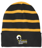Syracuse Chargers Fleece-Lined Stripe Beanie