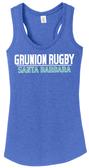 Grunion Rugby Ladies-Cut Racerback Tank