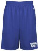 Grunion Rugby Gym Shorts, Royal