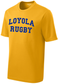 Loyola Dons Rugby Performance Tee, Gold