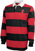 Grove City Men Rugby Stripe Polo