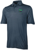 Fisher Alumni Striped Performance Polo