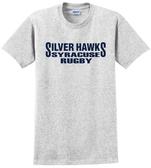 Syracuse Silver Hawks T-Shirt, Ash Gray