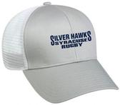 Syracuse Silver Hawks Mesh-Back Hat, Light Gray