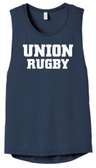 Union Rugby Ladies-Cut Muscle Tank
