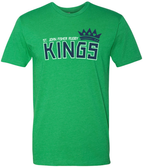 Fisher Kings Crew Neck Tee, Kelly Green