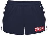 Fisher WRFC Ladies-Cut Gym Short, Navy/White