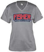 Fisher WRFC Performance Tee, Heather Gray