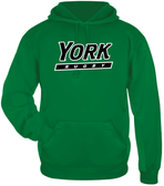 YCP Rugby Performance Fleece Hoodie, Kelly Green
