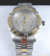 Ladies Two-Tone Tag Heuer 2000 Professional Watch, with Date Display