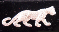 1 Carat Cartier Replica Panther Pin, in 18k White Gold