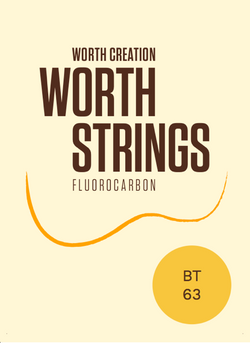 Worth Brown Tenor High G Fluorocarbon Ukulele Strings
