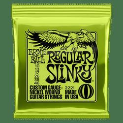 Ernie Ball Regular Slinky 10-46 Gauge Electric Guitar Strings