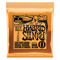 Ernie Ball Hybrid Slinky 10-56 Gauge Electric Guitar Strings