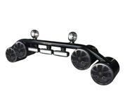 "Polk Audio 6.5"" Wakeboard Tower Speaker Light Bar Combo - Polished or Black"