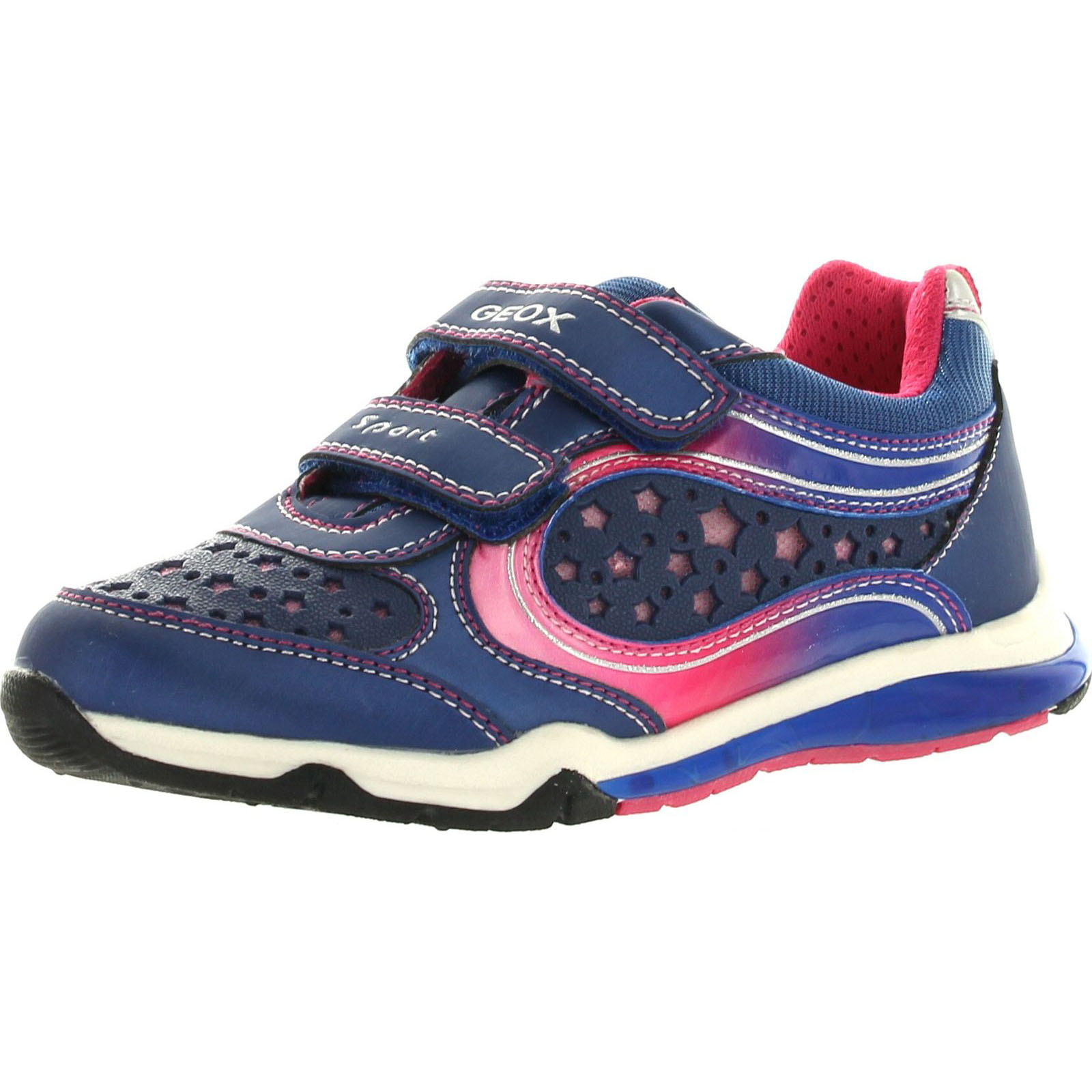 Details about Geox Girls Magica16 Fashion Light Up Sneakers