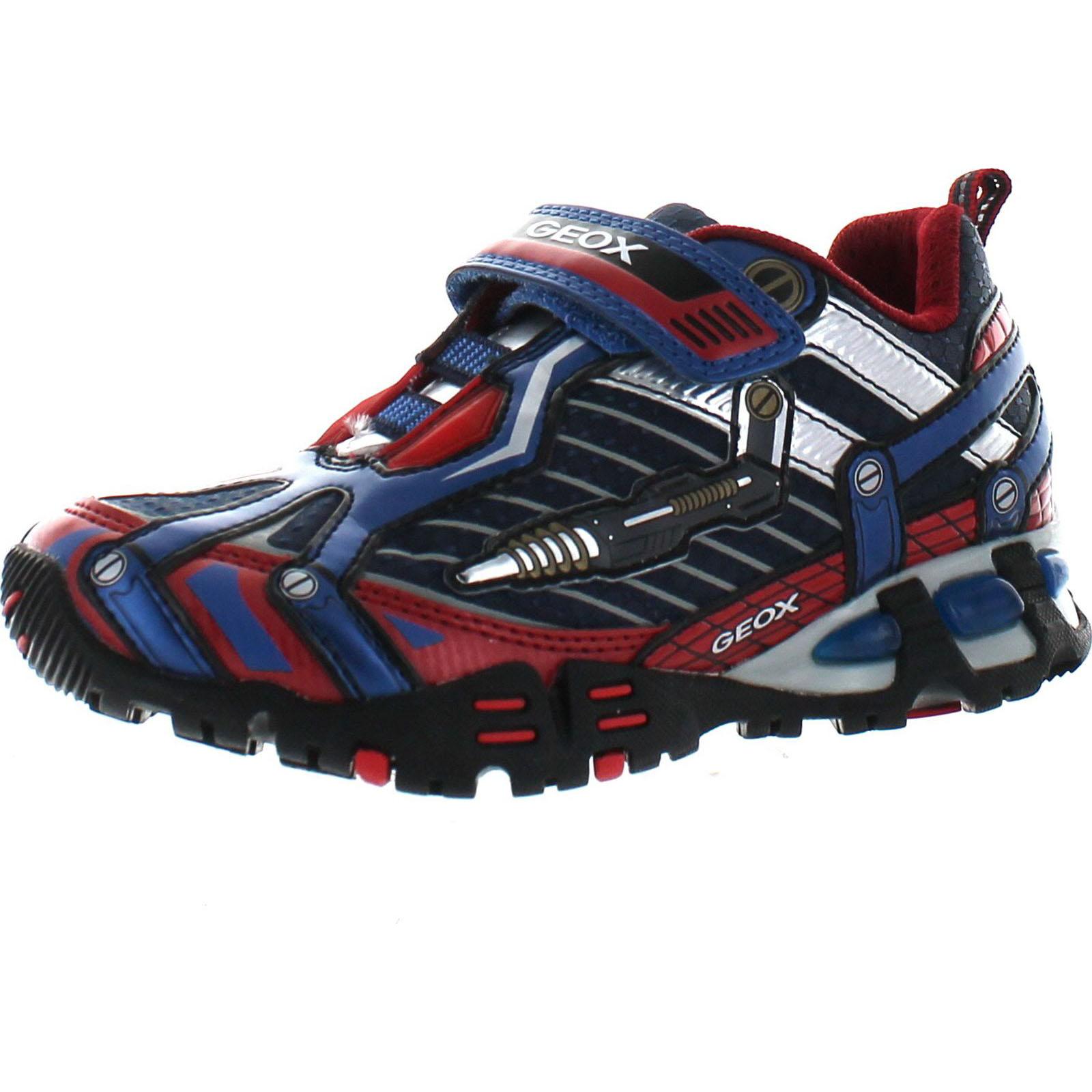 ebaae77bb8 Geox Boys Light Eclipse Fashion Light Up Sneakers | eBay
