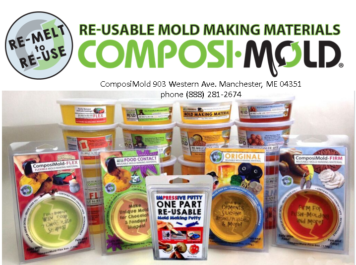 "Mold Making, ""The Art of Duplication,"" With ComposiMold"