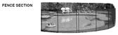 G.L.I. Products | FENCE SECTION, 5' X 10' DESIGNER BLACK | 4300501