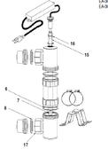 CUSTOM MOLDED PRODUCTS | LAMP, MODEL EA-3H-40 | 70-18440