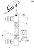 "CUSTOM MOLDED PRODUCTS | QUARTZ TUBE TEE, 3"", EA-9 | 58-50210"