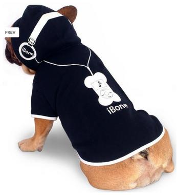 iBone fleece hoodie