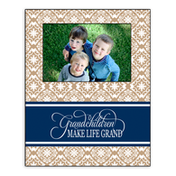 Grandchildren Make Life Grand Custom Design Picture Frame