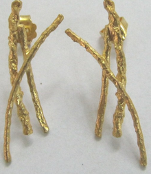 Sarina Gold earings K18 GE52