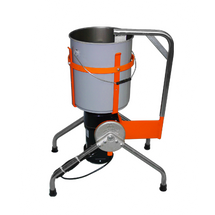 M-61 Stationary Cement Mixer, 15 Gallon with 1 HP Motor