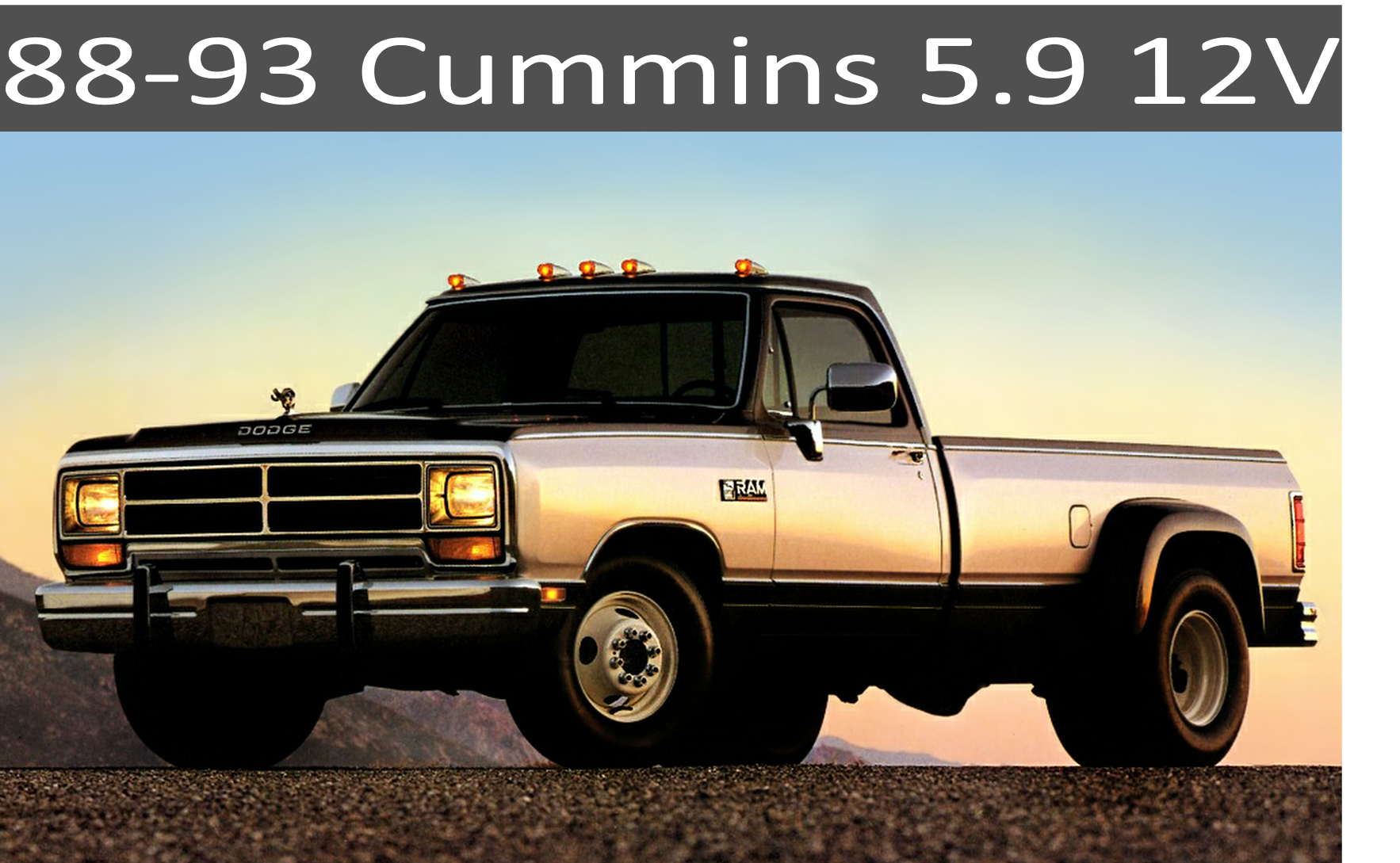 88-93 Dodge Cummins 5.9 Parts