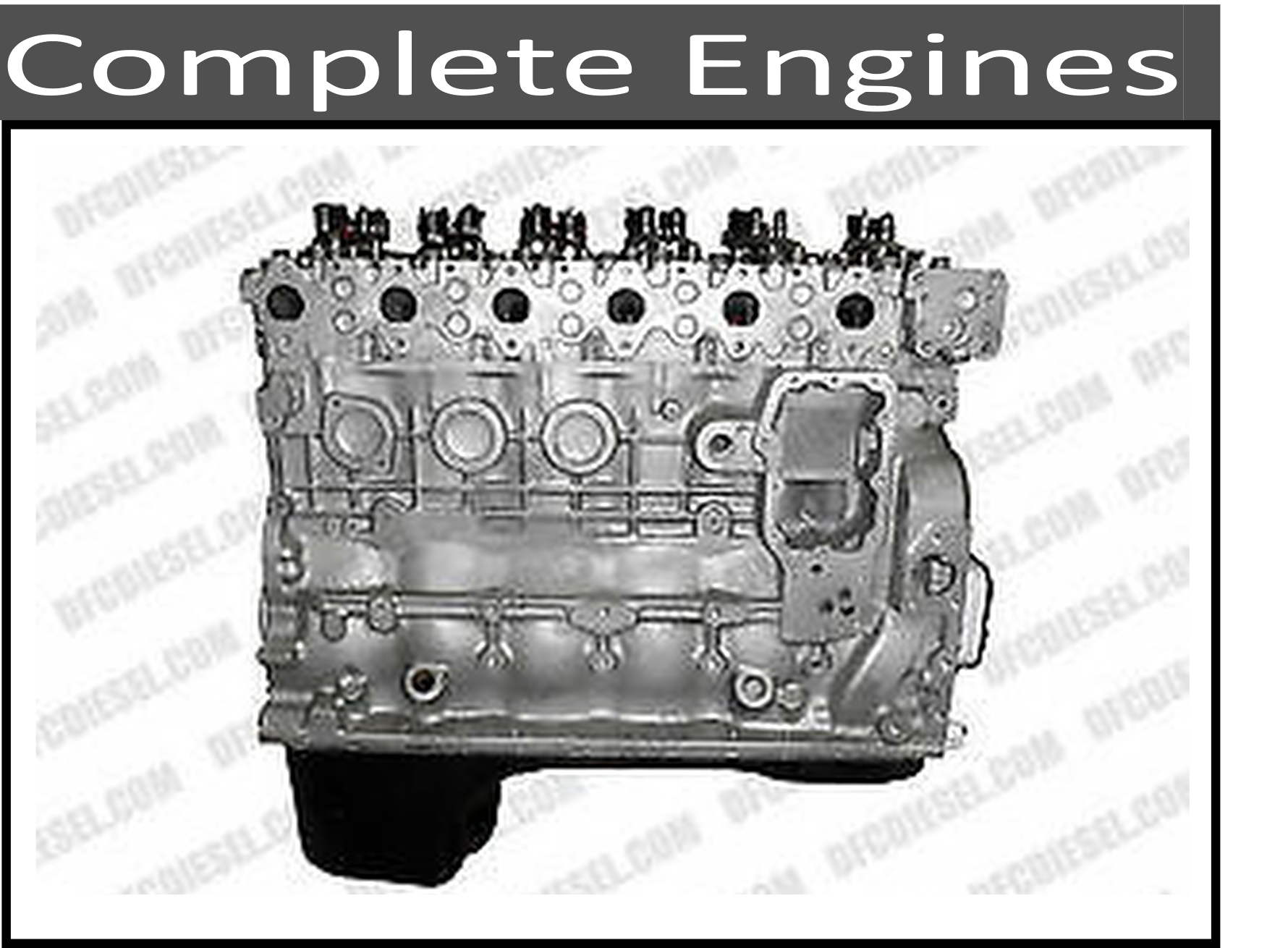 Remanufactured Short and Long Block Engines