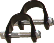 "Rigid LED Lights 0.875"" Adjustable Clamp System; Pair"