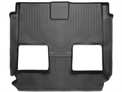 Black Rear FloorLiner Chrysler Town & Country 2008 - 2016 Fits vehicles with Stow n Go Seating Only; covers 2nd & 3rd row