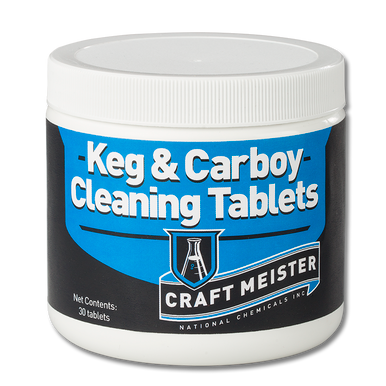 Craft Meister Keg & Carboy Cleaning Tablets