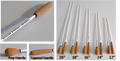 2. Imprinted Cork Handle Conducting Batons (Minimum order of 50)