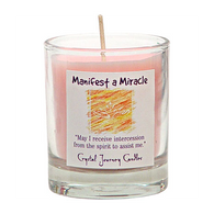 """Manifest a Miracle"" Aromatherapy Candle"