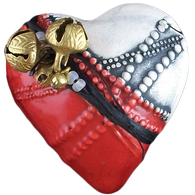 "Inner Spirit ""Song & Music Maker"" Heart Rattle"