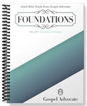 Foundations - Preaching and Ministry - Fall 2017 Large Print