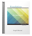 Foundations Adult Bible Study (Large Print) - Summer 2019 Romans