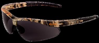 Bullhead Stinger Lens Color: Smoke Frame Color: Camouflage  Base Curve: 9